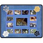 Cat/Dog lover medium blanket - Fleece Blanket (Medium)
