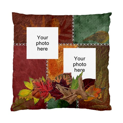 Autumn Cushion Case (one Side) By Lil    Standard Cushion Case (one Side)   Exfxq8y4itdt   Www Artscow Com Front