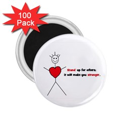 Antibully Lk 2 25  Button Magnet (100 Pack)