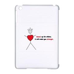 Antibully Lk Apple Ipad Mini Hardshell Case (compatible With Smart Cover) by createdbylk