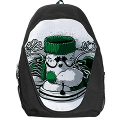 LIFE SOCKS/SUCKS Backpack Bag by Contest1718246
