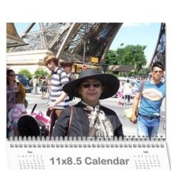 Ma Calendar By Neel Das   Wall Calendar 11  X 8 5  (18 Months)   My6uqzdn0v1w   Www Artscow Com Cover