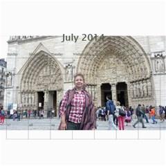Ma Calendar By Neel Das   Wall Calendar 11  X 8 5  (18 Months)   My6uqzdn0v1w   Www Artscow Com Jul 2014