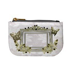 White Black Wedding Coin Purse By Ellan   Mini Coin Purse   R7tnyhviovut   Www Artscow Com Front