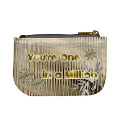 One In A Million Coin Purse By Ellan   Mini Coin Purse   Bj4da45a6b5y   Www Artscow Com Back