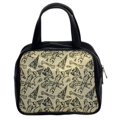 Bones & Arrows Classic Handbag (two Sides) by Contest1719194