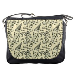 Bones & Arrows Messenger Bag by Contest1719194
