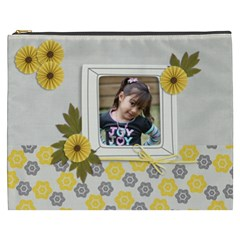 Cosmetic Bag (xxxl)   Happiness 3 By Jennyl   Cosmetic Bag (xxxl)   5hupzlely68c   Www Artscow Com Front