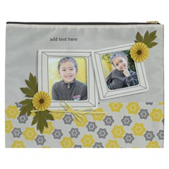 Cosmetic Bag (xxxl)   Happiness 3 By Jennyl   Cosmetic Bag (xxxl)   5hupzlely68c   Www Artscow Com Back