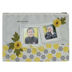 Cosmetic Bag (xxl)   Happiness 3 By Jennyl   Cosmetic Bag (xxl)   Yevrecj2po25   Www Artscow Com Back