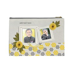 Cosmetic Bag (l)   Happiness 3 By Jennyl   Cosmetic Bag (large)   Pactqfcl3v6l   Www Artscow Com Back