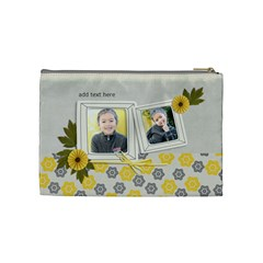 Cosmetic Bag (m) Happiness 3 By Jennyl   Cosmetic Bag (medium)   Vsl8mfsgmqc3   Www Artscow Com Back