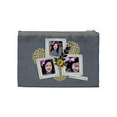 Cosmetic Bag (m)   Happiness 7 By Jennyl   Cosmetic Bag (medium)   20fblnbtx7z3   Www Artscow Com Back
