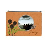 Cosmetic Bag (L)-My Flower Garden 2 - Cosmetic Bag (Large)