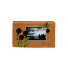 Cosmetic Bag (s) My Flower Garden 2 By Jennyl   Cosmetic Bag (small)   Thl58pd7j9qz   Www Artscow Com Back
