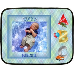Boy s Abc Mini Blanket By Joy Johns   Double Sided Fleece Blanket (mini)   A4lex7avhsat   Www Artscow Com 35 x27 Blanket Back