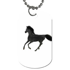 Running Horse Dog Tag (One Sided) by mysticalimages