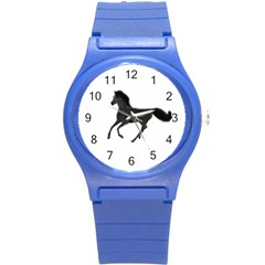 Running Horse Plastic Sport Watch (small) by mysticalimages
