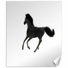 Running Horse Canvas 8  X 10  (unframed)
