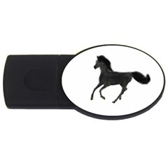 Running Horse 2gb Usb Flash Drive (oval)
