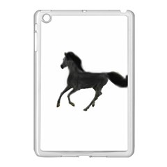Running Horse Apple iPad Mini Case (White) by mysticalimages