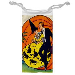 Hallowe en Greetings  Jewelry Bag by EndlessVintage
