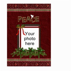 Christmas Peace Large Garden Flag (2 Sides) By Lil    Large Garden Flag (two Sides)   Jrb5wbdvq8jy   Www Artscow Com Back