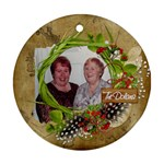 Ornament 1 side_The Dolans - Ornament (Round)