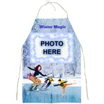 Winter Magic apron - Full Print Apron
