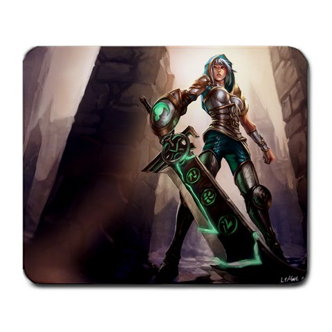 Riven Mousemat By Dan   Large Mousepad   Om11v2g5a1j2   Www Artscow Com Front