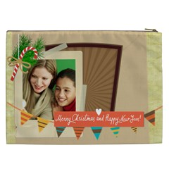 Christmas Gift By Merry Christmas   Cosmetic Bag (xxl)   J9dx0g3e8xxa   Www Artscow Com Back