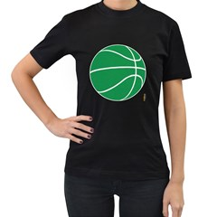 Boston Celtics Basketball  T Shirt,  Womens' T Shirt (black) by fokbrosspeedcow