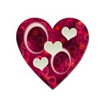 I Heart You Pink heart magnet - Magnet (Heart)