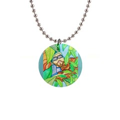 Tree Song Button Necklace by JacklyneMae