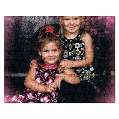 Candence And Abbey   Copy Jigsaw Puzzle (rectangle)