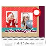 Year calendar - Wall Calendar 11  x 8.5  (12-Months)