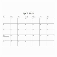Year Calendar By C1   Wall Calendar 8 5  X 6    Ub4agay8ciqb   Www Artscow Com Apr 2014