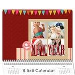 year calendar - Wall Calendar 8.5  x 6