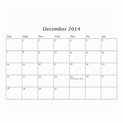 Year Calendar By C1   Wall Calendar 8 5  X 6    5susgpxop77w   Www Artscow Com Dec 2014