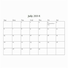 Year Calendar By C1   Wall Calendar 8 5  X 6    D9a2ogzx6fri   Www Artscow Com Jul 2014