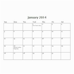 Year Calendar By C1   Wall Calendar 8 5  X 6    D9a2ogzx6fri   Www Artscow Com Jan 2014
