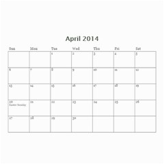 Year Calendar By C1   Wall Calendar 8 5  X 6    D9a2ogzx6fri   Www Artscow Com Apr 2014