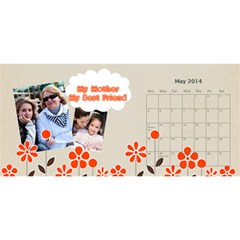 Year Of Calendar By C1   Desktop Calendar 11  X 5    Ad3o63wcxcaw   Www Artscow Com May 2014