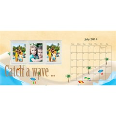 Year Of Calendar By C1   Desktop Calendar 11  X 5    Ad3o63wcxcaw   Www Artscow Com Jul 2014
