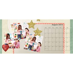 Year Of Calendar By C1   Desktop Calendar 11  X 5    Ad3o63wcxcaw   Www Artscow Com Aug 2014