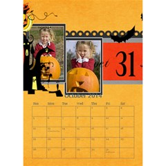 Year Of Calendar By C1   Desktop Calendar 6  X 8 5    Cnkq7343cywt   Www Artscow Com Oct 2014