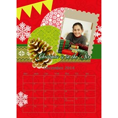 Year Of Calendar By C1   Desktop Calendar 6  X 8 5    Cnkq7343cywt   Www Artscow Com Dec 2014
