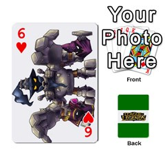 Lol Matquy6cat Card By Cat Luc   Playing Cards 54 Designs   Pk6sob3xf6xo   Www Artscow Com Front - Heart6