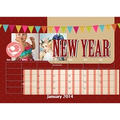 Year Of Calendar By C1   Desktop Calendar 8 5  X 6    1gkrmjicuzbo   Www Artscow Com Jan 2014
