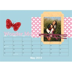 Year Of Calendar By C1   Desktop Calendar 8 5  X 6    1gkrmjicuzbo   Www Artscow Com May 2014